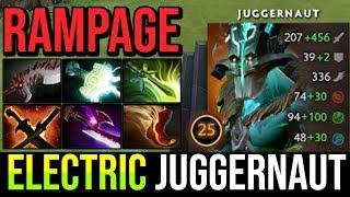 SUPER CARRY ELECTRIC JUGGERNAUT - Epic Rampage Monster Crit Like Crazy 26Kills 7.20e Dota 2