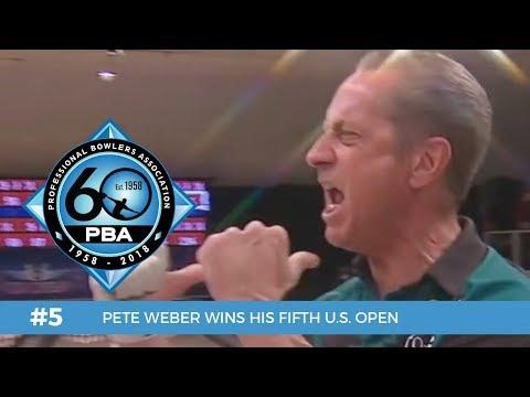 PBA 60th Anniversary Most Memorable Moments #5 - Pete Weber Wins Fifth U.S. Open