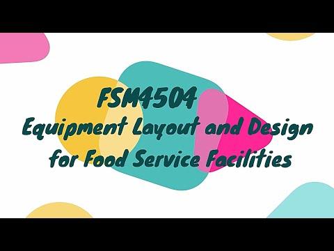 FSM4504 Equipment Layout & Design For Food Service Facilities | Final Presentation