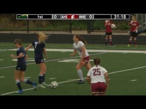 Arlington High School Girls Varsity Soccer vs Wilmington - Oct. 6, 2017