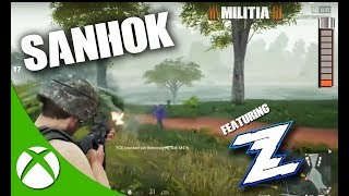 SANHOK w/ ZAASTRO SLIDING! PUBG XBOX ONE X GAMEPLAY | PLAYERUNKNOWN'S BATTLEGROUNDS