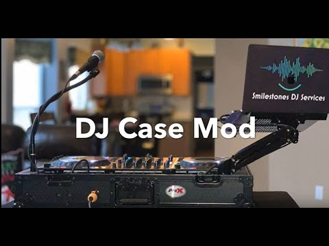 DJ Case Mod/Build With Pioneer DDJ-1000 & ProX Case To Simplify Setup & Tear Down