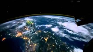 Terra vista da Espasso Espacial Internacional