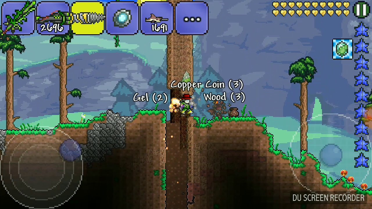 how to craft an axe in terraria