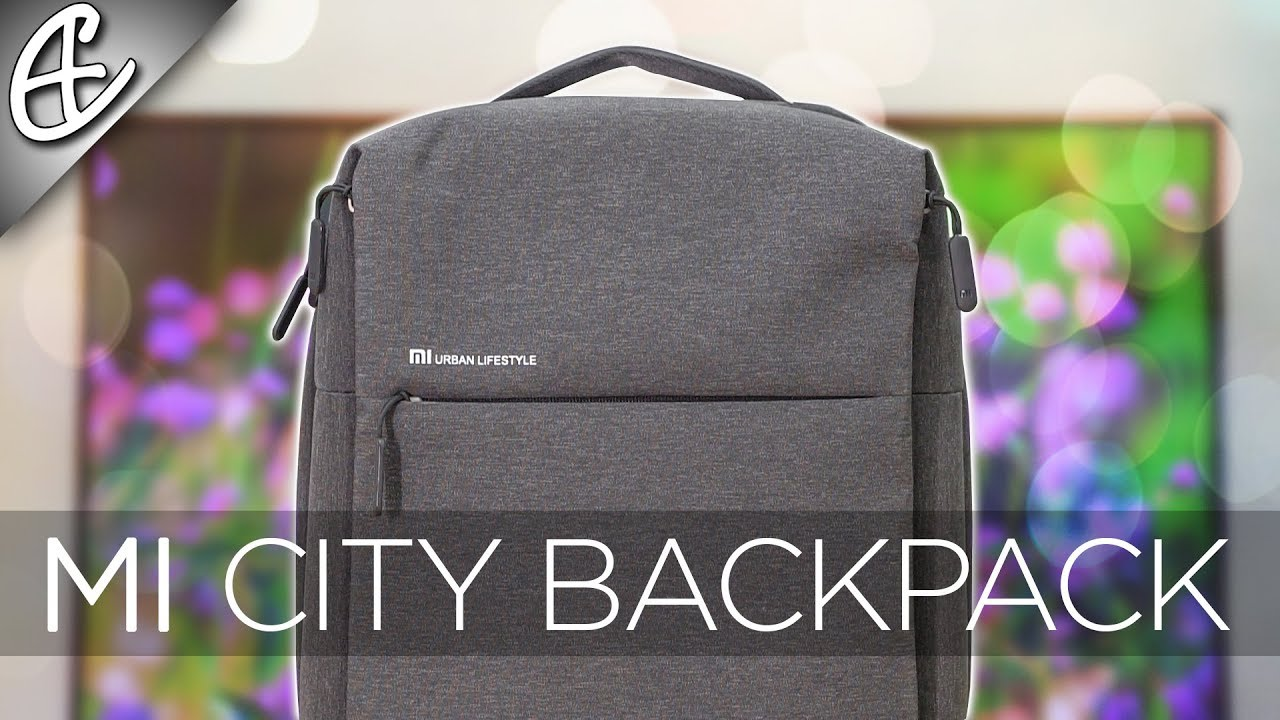 c0d38ad04 Xiaomi Mi City Backpack Review - YouTube