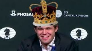 Magnificent & Spectacular Queen sacrifice by Carlsen to retain Title WCC 2016