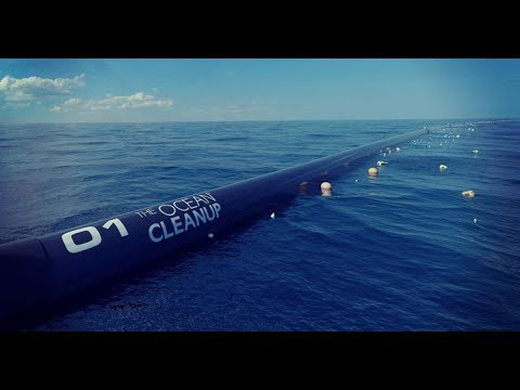 First Ever Ocean Plastic Cleaner Will Tackle Great Pacific Garbage Patch