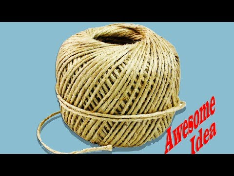 Jute Rope Craft Ideas | How make Awesome ideas with Jute Rope-best out of waste