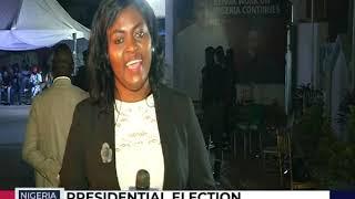 Mariah Olasehinde captures the mood at the President Buhari's Campaign Council Secretariat in Abuja