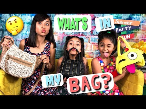 What's In My Bag - Live Show // GEM Sisters
