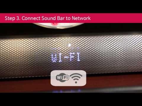 LG Music Flow Setup Guide for Sound Bar User
