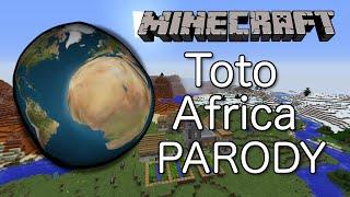 Gambar cover Toto - Africa (MINECRAFT PARODY)