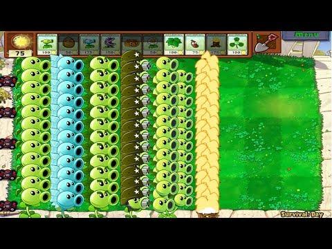 Plants vs Zombies Hack All Pea PvZ Mod PvZ 2 Pak vs Gargantuar