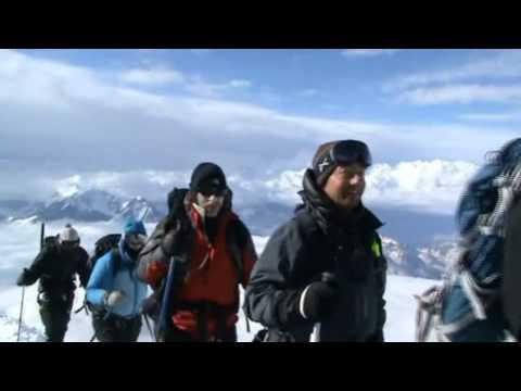 Mount Elbrus climb (video)