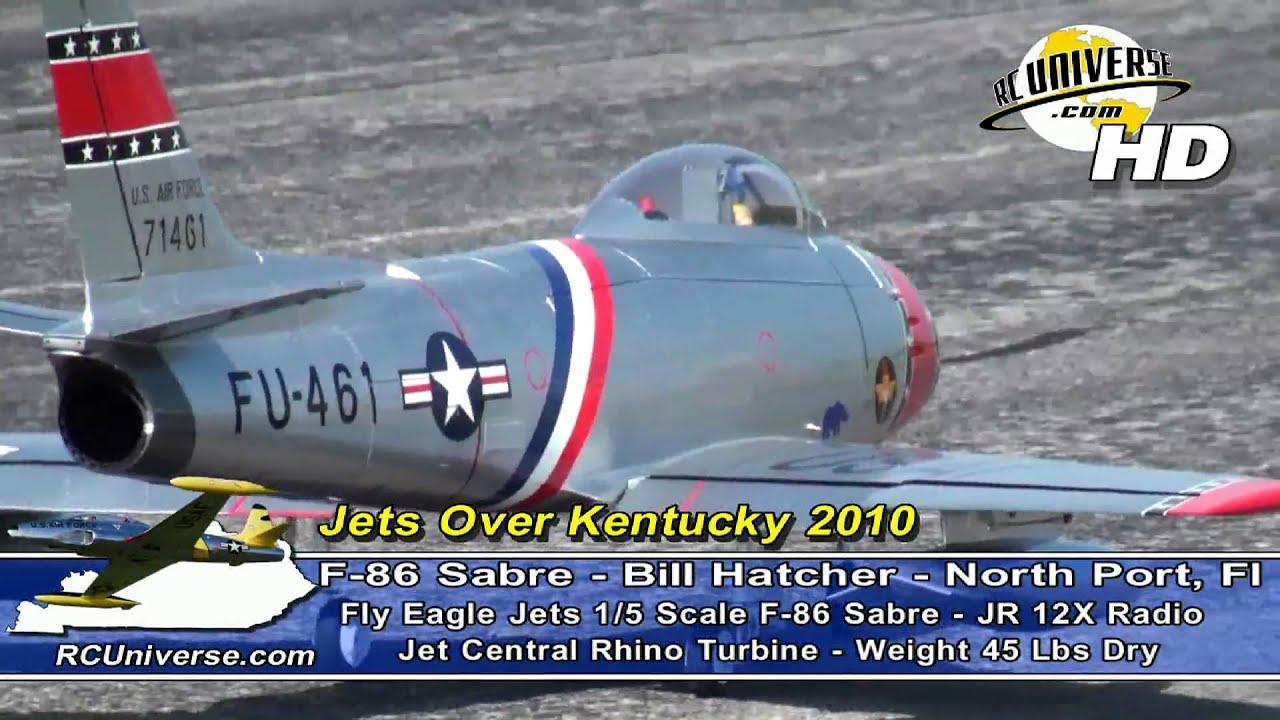 Jets Over Kentucky 2010 - F-86 Sabre, Bill Hatcher
