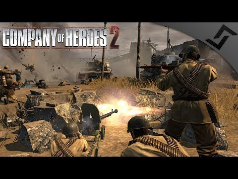 German Pincer at Smolensk - Company of Heroes 2 - Theatre of War: Barbarossa COOP 4