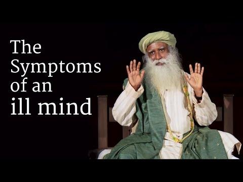 The Symptoms of an ill Mind - Sadhguru talks in a Darshan at Isha Yoga Center, 2014