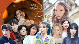 ◣K-POP IDOLS SINGING TO TAEYEON 'ALL ABOUT YOU' (HD)◥