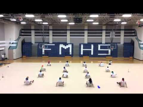 FMHS Flower Mound High School Colorguard Bro_Guard 2015