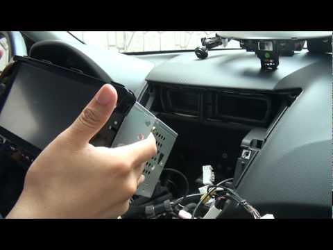 2011 New Accent Navigation Installation .mpg