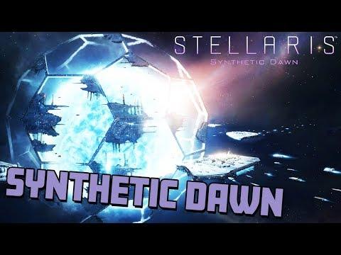 Stellaris Synthetic Dawn - GREETINGS FELLOW HUMANS [Stellaris 1.8 Gameplay]