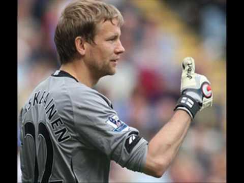 Jussi Jaaskelainen Bolton Goalkeeping Legend