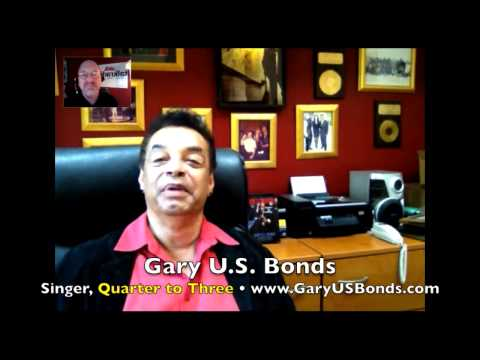 Gary 'U.S.' Bonds: Family, sax & Bruce Springsteen effect! INTERVIEW