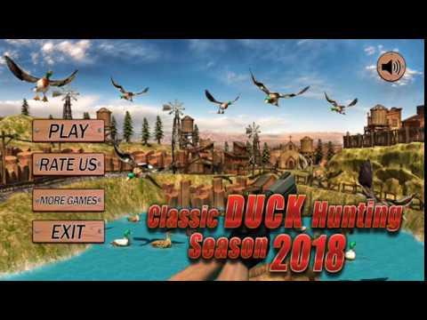 Duck Hunt Season 2018, Sniper Duck Shoot with Gunshot Game HD