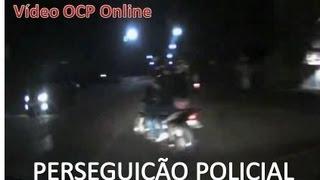 Perseguição policial a motoqueiro em Jaraguá do Sul