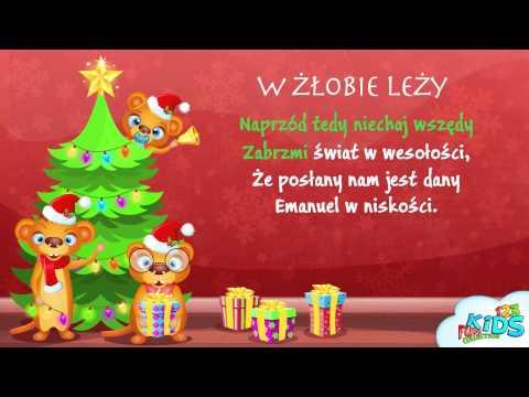W Żłobie Leży - Polskie Kolędy + tekst (karaoke)