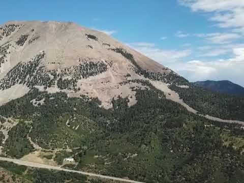 90.21 fantastic acres of land just outside of La Veta, CO with 600 feet of stream