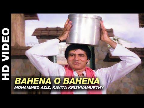 Bahena O Bahena - Aaj Ka Arjun | Mohammad Aziz, Kavita Krishnamurthy | Amitabh Bachchan & Jaya Prada