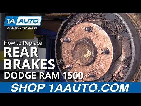 How to Replace Rear Brakes 94-02 Dodge Ram 1500