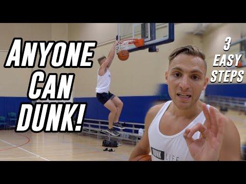 How to Jump Higher & DUNK! 3 Simple Steps    5'10 Dunker Motivation