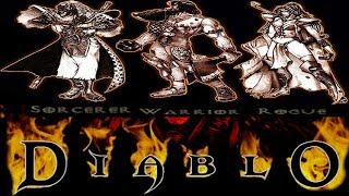 The Fates Of The Playable Diablo 1 Characters - Diablo Lore