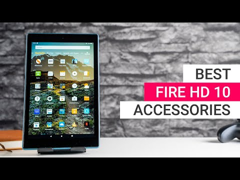 Amazon Fire HD 10 Accessories: Best Cases, Keyboards, Stands