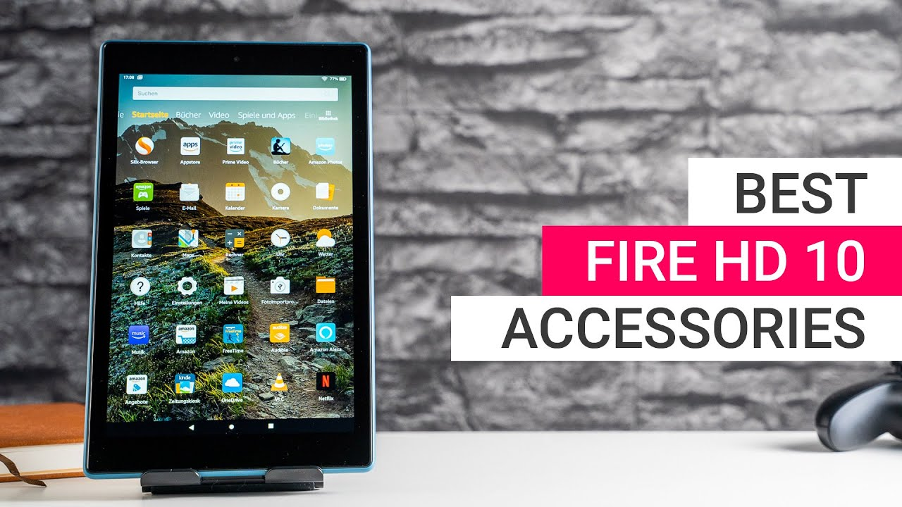 Amazon Fire Hd 10 Accessories Best Cases Keyboards Stands Youtube