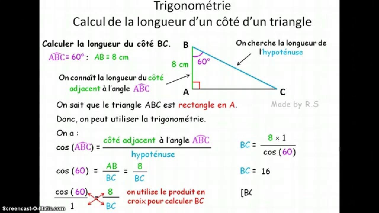 3e Trigonométrie 1 - YouTube