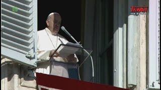 Anioł Pański z Ojcem Świętym Franciszkiem w Watykanie