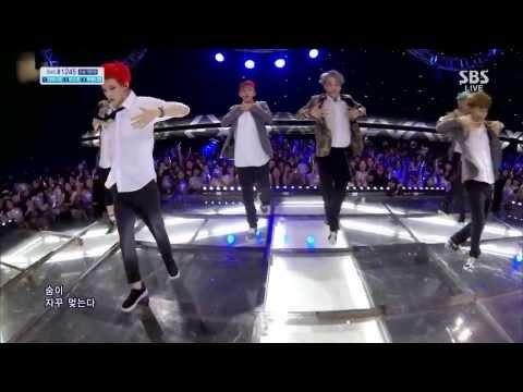 [720p HD] 130804 EXO 엑소 - Growl 으르렁 @ SBS Inkigayo Comeback Stage