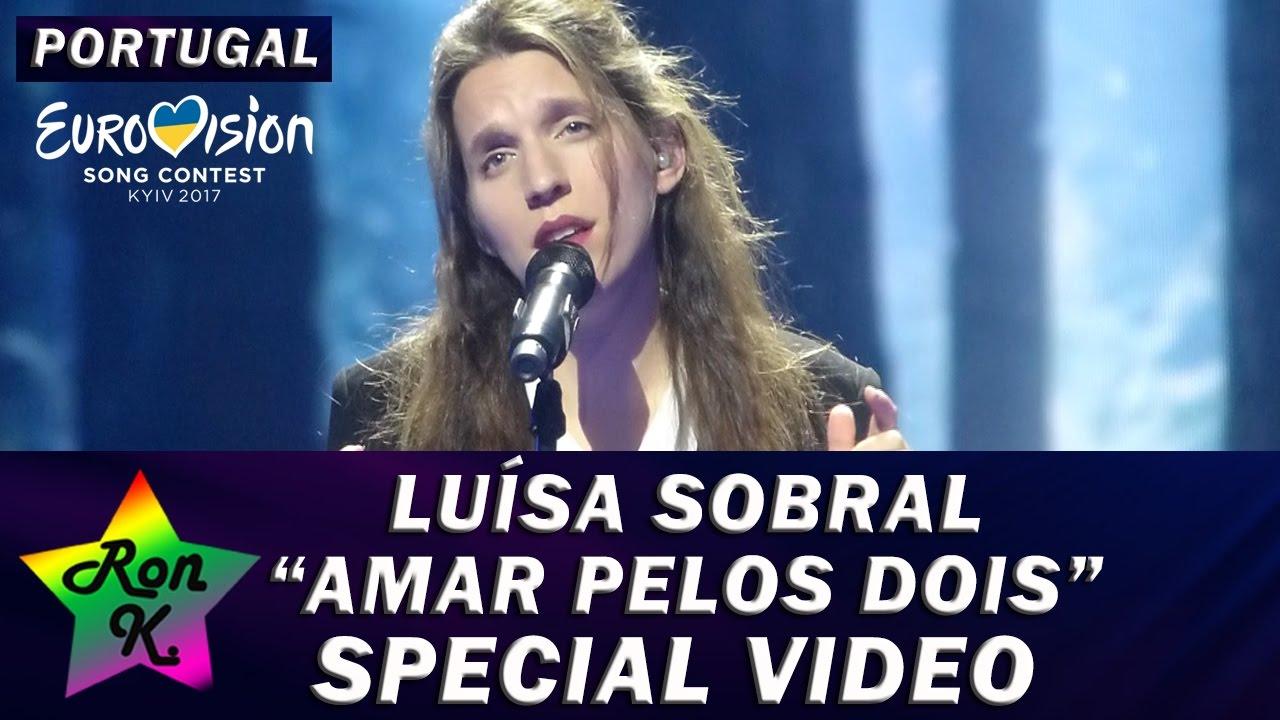 Luisa Sobral Amar Pelos Dois Special Multicam Video Eurovision 2017 Portugal Youtube
