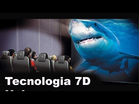 New Technology 7D hologram Show.