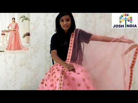 Beautiful Pink Lehenga Choli   Affordable Lehenga Haul   Latest Lehenga Collection   JOSH INDIA