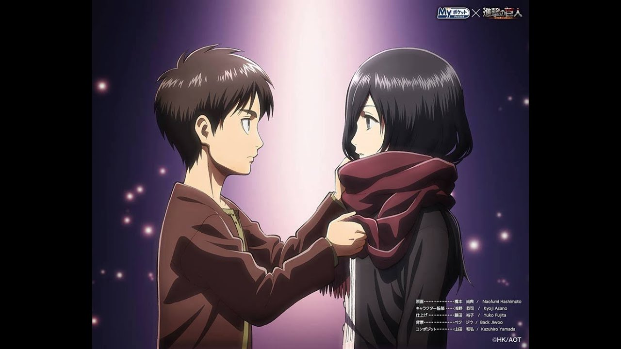 Attack on titan mikasa ackerman slideshow - 4 6