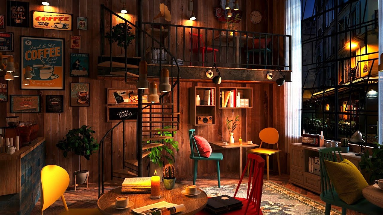 Drink your Coffee on this Coffee Shop Ambience with Relaxing Jazz Music