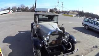 3497 a replica of an antique car
