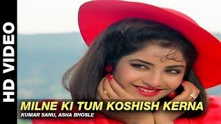 Milne Ki Tum Koshish Kerna - Dil Ka Kya Kasoor | Kumar Sanu, Asha Bhosle | Prithvi & Divya Bharti