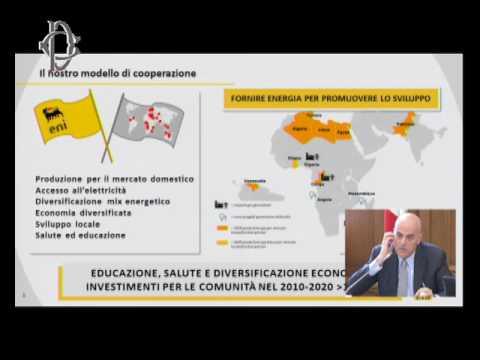 Roma - Piano strategico 2017-2020, audizione Descalzi (18.07.17)