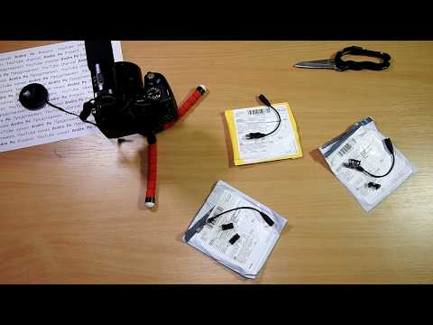 Переходники с Mini-USB разъемом на джек 3.5 мм аудио кабель подключения активного микрофона