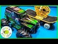 Cars for Kids | GRAVE DIGGER MONSTER TRUCK RC CARS?!